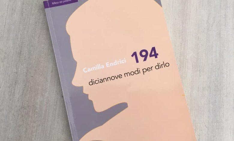 194 diciannove modi per dirlo, Camilla Endrici